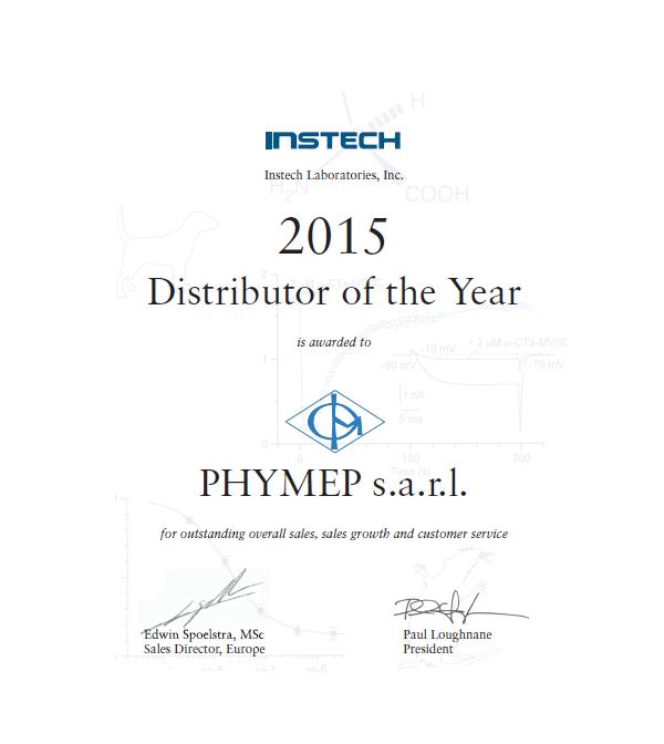 Catalogue des produits proposés par PHYMEP